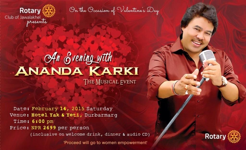 Ananda Karki_Valentines Live