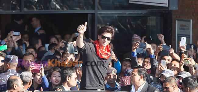 Shahrukh Khan nepal 2