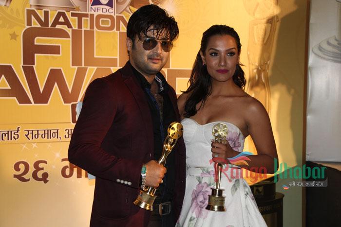 Priyanka Karki And Aaryan Sigdel